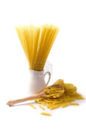 Italian pasta and spaghetti