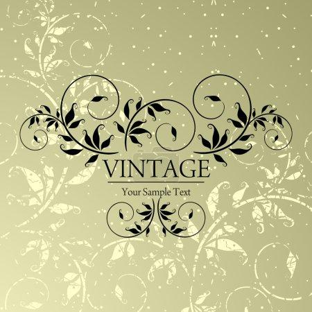 Illustration for Vintage background - Royalty Free Image