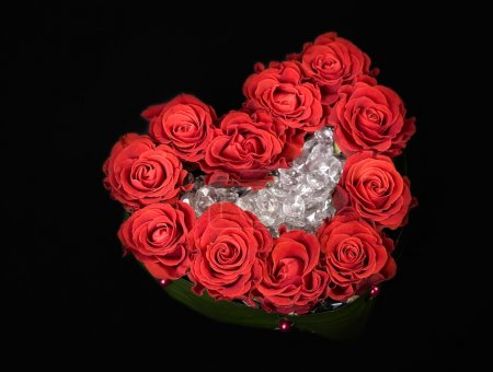 Valentine day rose decoration bouquet