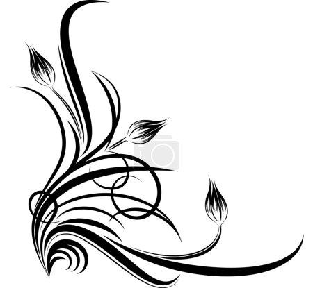 Illustration for Decorative corner - Royalty Free Image