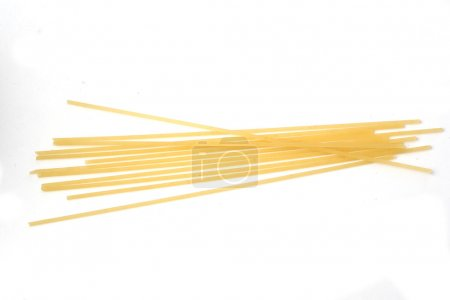 Photo for Spaghetti isolated on white background - Royalty Free Image