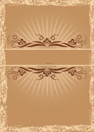 Illustration for Background with ornament for various design artwork - Royalty Free Image