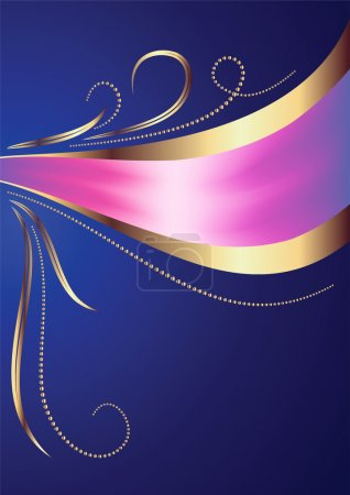 Celebratory abstract background