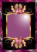 Background with luxurious ornament