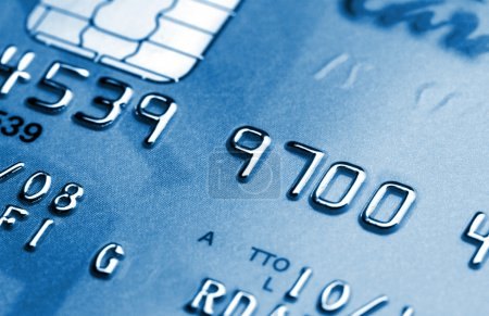 Photo for Fine image of credit card background detail - Royalty Free Image