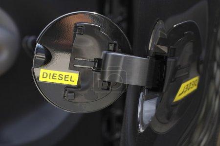 Diesel background