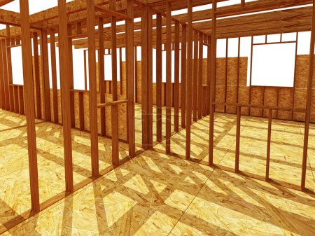 Constructione site wood background