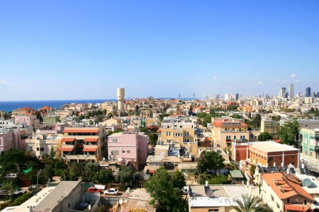 Panorama of the city of Jafo