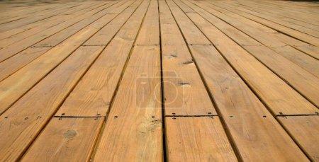 Photo pour -- fabriqué à partir de grandes planches de couleur bois naturel - image libre de droit