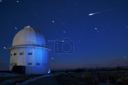 Photo for Star sky. Shooting was conducted highly in mountains in the conditions of the discharged atmosphere - Royalty Free Image
