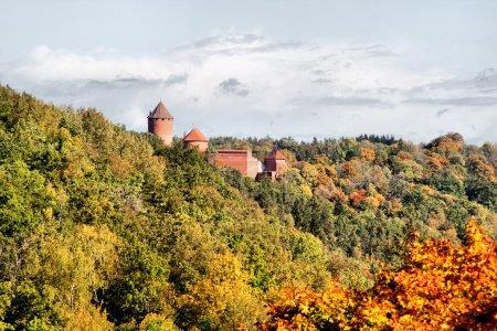 Turaida castle at Sigulda Latvia...