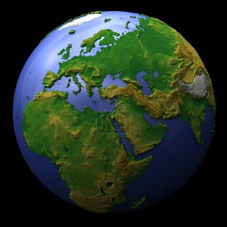 planète terre, europa