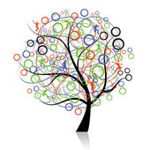 Connecting peoples web tree