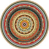 Oriental circular background