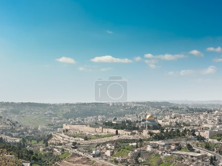 View of Jerusalem