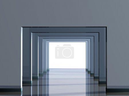 Conceptual image - a way to light...