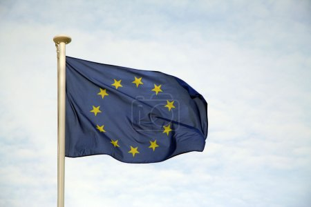 Photo for The European Union Flag - Royalty Free Image