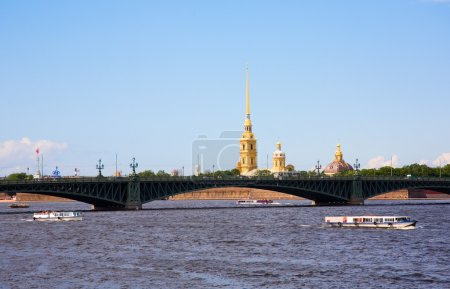 Boat excursions in St.Petersburg
