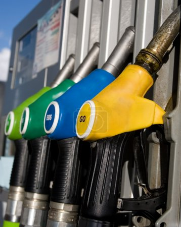 Different types of fuel dispensers