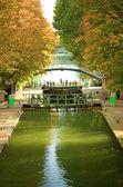 Beautiful canal Saint-Martin