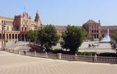 The Spain's square in Seville