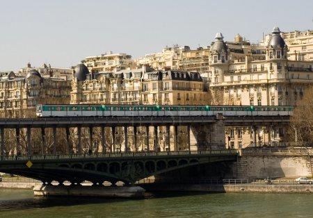 Parisian metro train