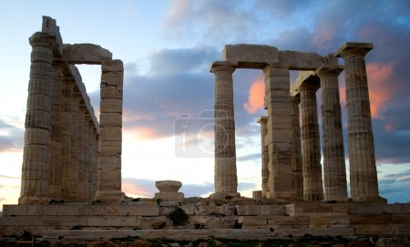 Temple of Poseidon on Sounion cape