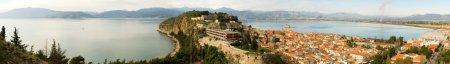 Panoramic view of Nafplion