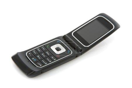 Photo pour Populaire mobile cell phone sur blanc - image libre de droit