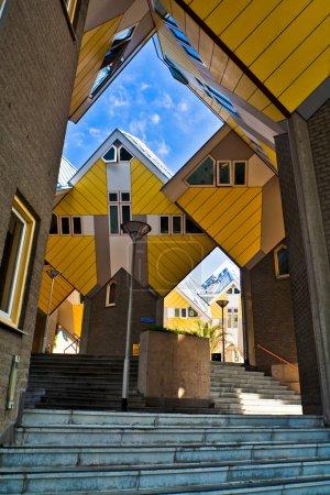 Kubische Häuser in Rotterdam
