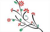 Květinové karta