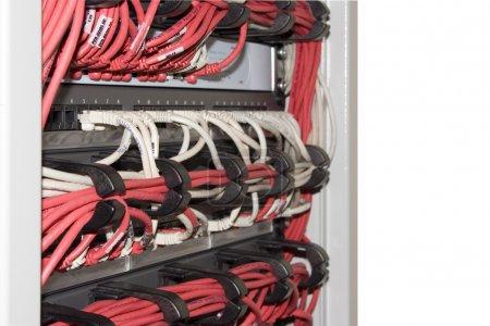 Photo pour Système de câblage structuré - image libre de droit