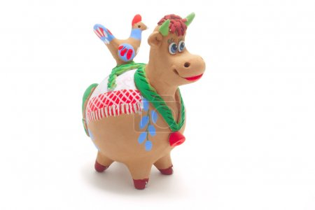 Clay cow