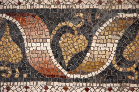Byzantine mosaic, Great Palace Museum, Istanbul, Turkey