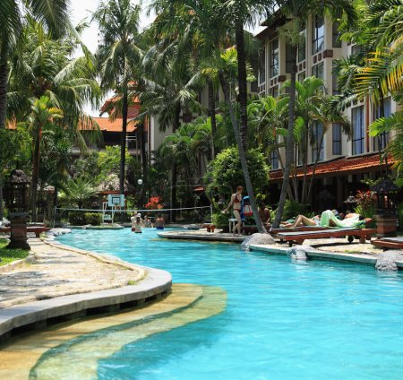 Pool of Sanur Paradise Hotel
