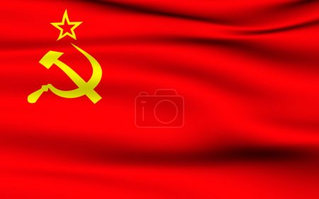 Soviet Union flag.