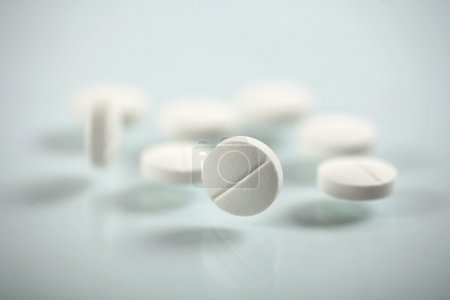 Photo for White pills - Royalty Free Image