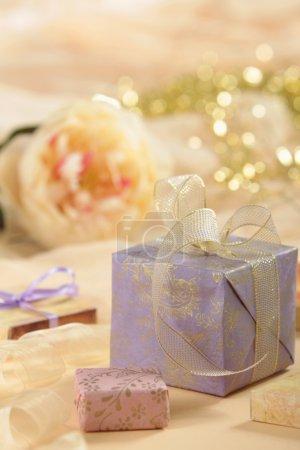 Foto de Caja de regalo - Imagen libre de derechos