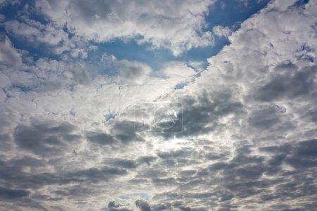 Background, dramatic sky