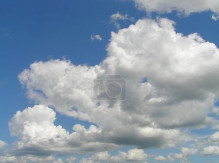 Photo for Blue sky with clouds - Royalty Free Image