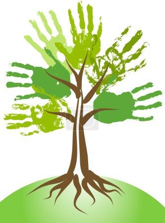 Handing tree