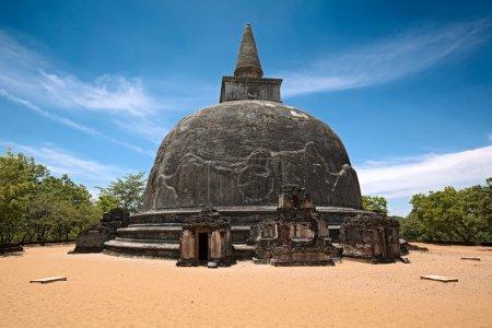 Photo for Kiri Vihara - ancient dagoba. Pollonaruwa, Sri Lanka - Royalty Free Image