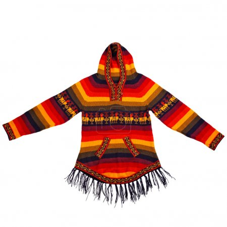 Mexican style knitted jacket