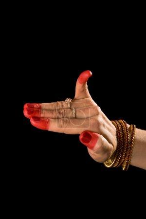 Hamsapaksha hasta of indian dance