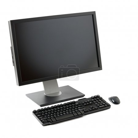 Computer workstation isolated