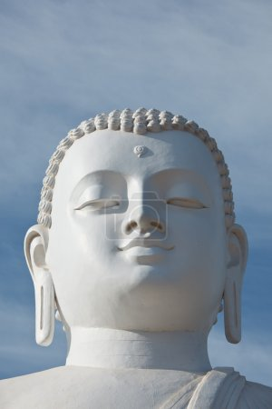 Sitting Budha image face