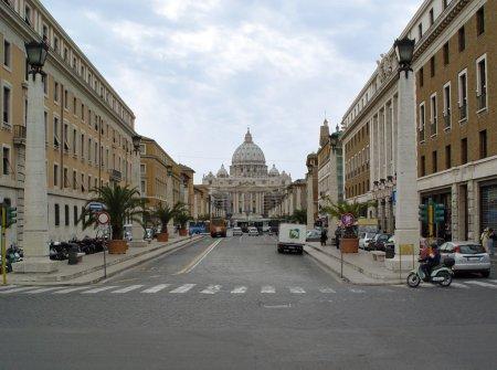 Straße nach Vatican