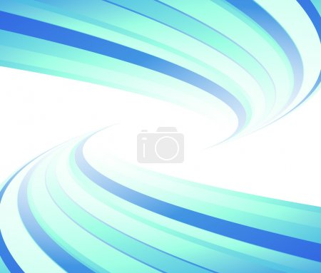 Blue flyer lined. Vector illustration