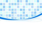 Background - blue tiles Vector illustration