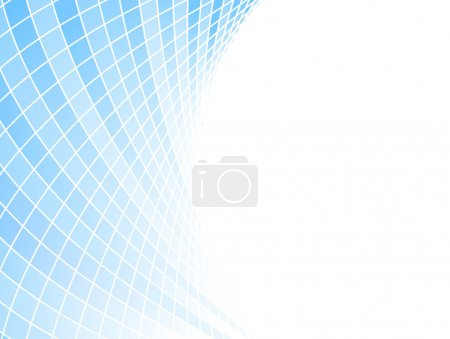 Blue halftone business card - tiles